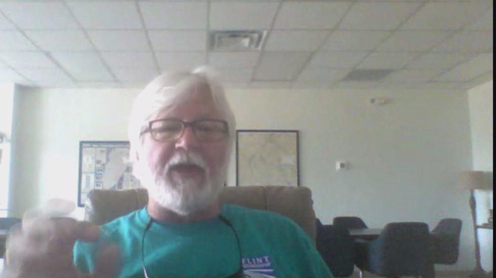 Gordon Rogers, Executive Director of Flint Riverkeepers