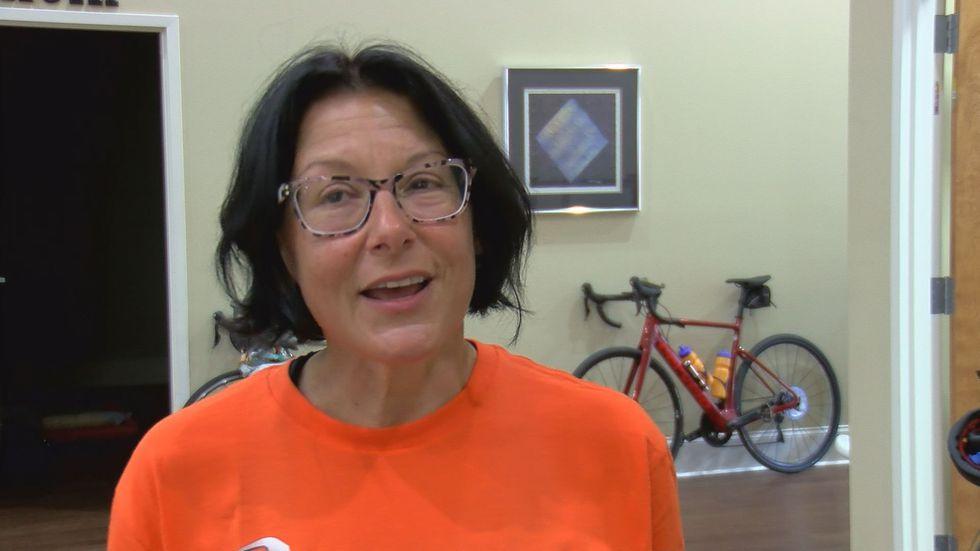 Karen Dejoe , biker from Tampa, Florida