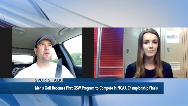 Sports Talk with Paige Dauer - GSW Golf