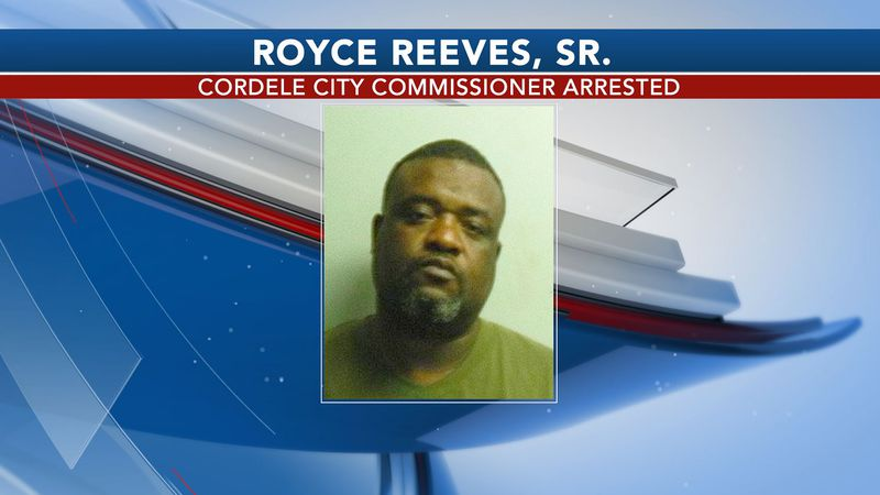 Royce Reeves, Sr., a Cordele city commissioner, is facing felony obstruction charges.