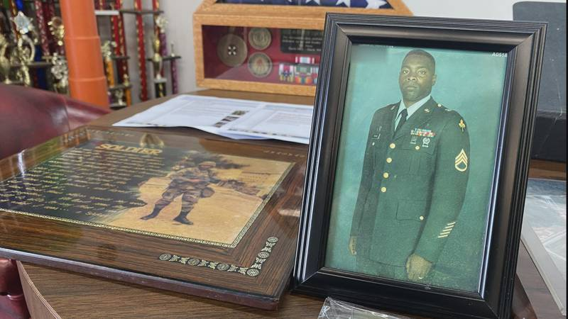 Marvin Thomas joined the U.S. Army in 1984.