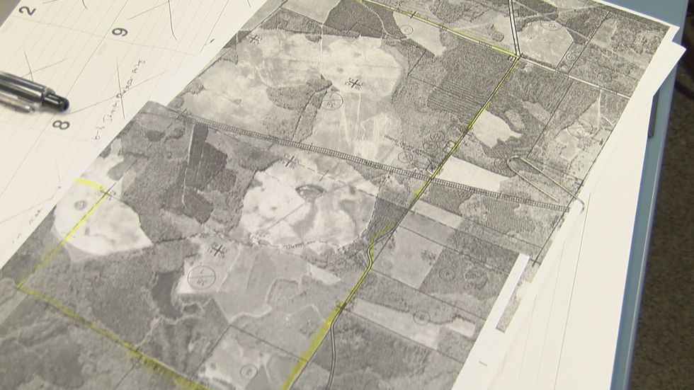 Over 1,400 acres in Early County will be filled with solar panels (Source: WALB)