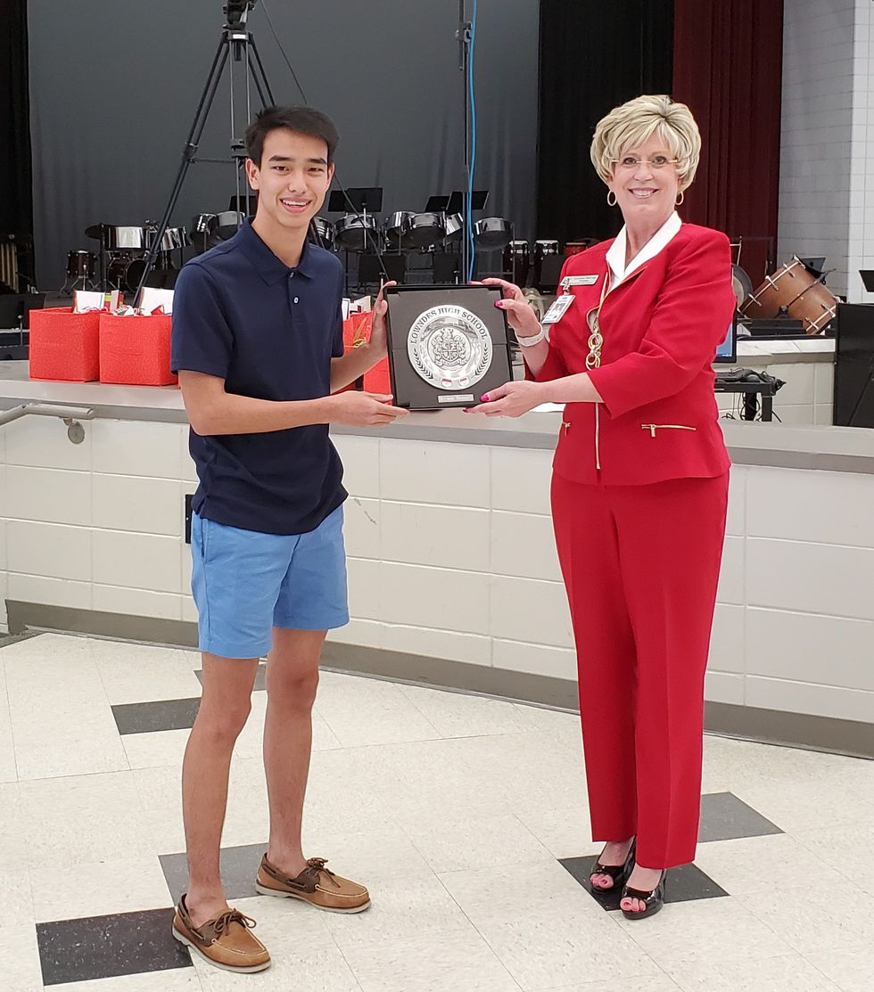 Bryson Bennett was named STAR student at Lowndes High School.