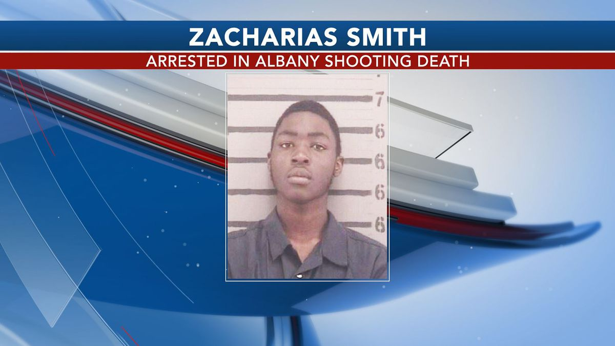 Zacharias Smith was arrested in connection to the shooting death of a 17-year-old in Albany.