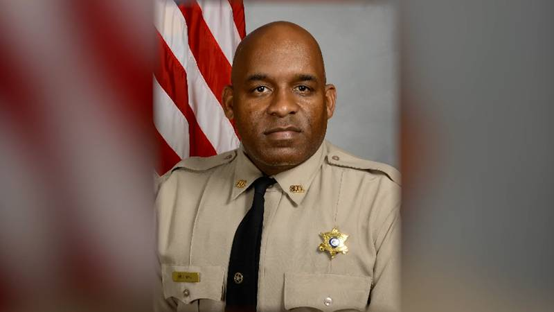 Corporal Avery Hillman of the Crisp County Sheriff's Office is being honored at National Police...