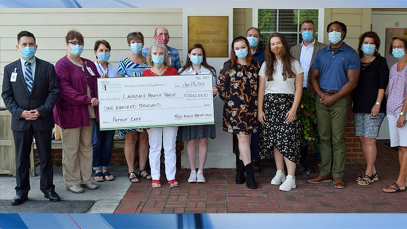 The Tree House made its largest donation ever on Friday.