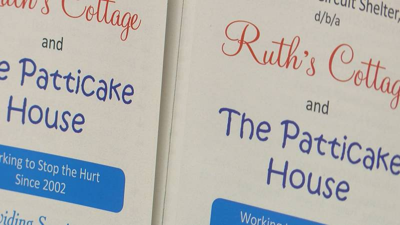 Ruth's cottage and the patticake house helps sexual abuse victims
