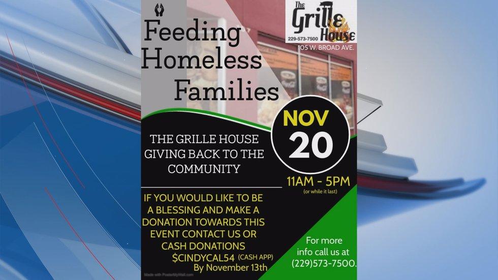 Feeding Homeless Families