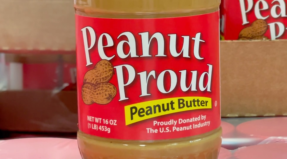 Peanut Butter donations to Second Harvest.