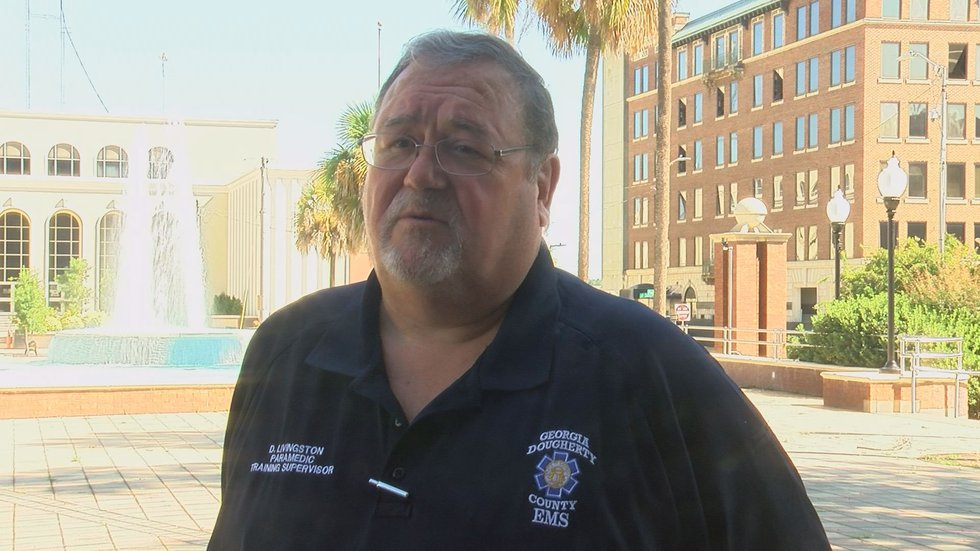 Dickie Livingston is the training and compliance supervisor for Dougherty County EMS.
