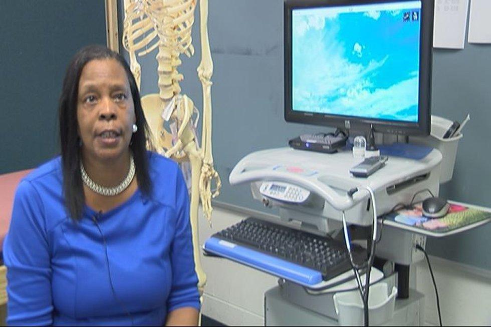 Health Clinic Coordinator Gwendolyn Mathis
