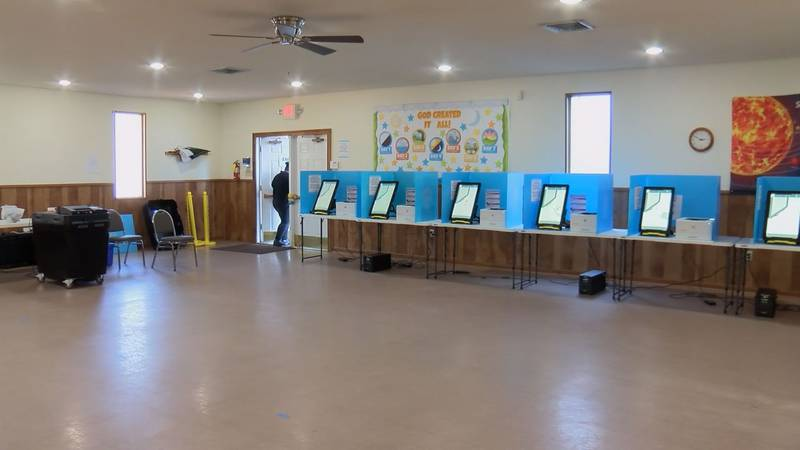 Across Dougherty and Lee counties voters took advantage of in-person voting.