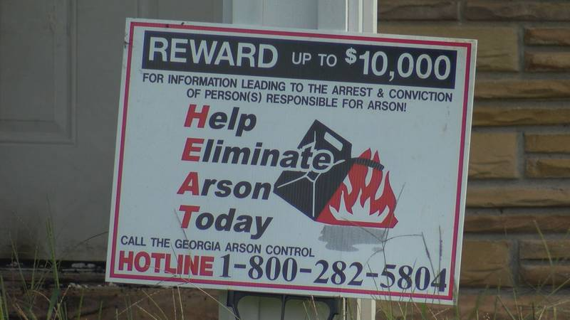 $10,000 dollars is up for grabs for anyone who can give information about how two homes were...