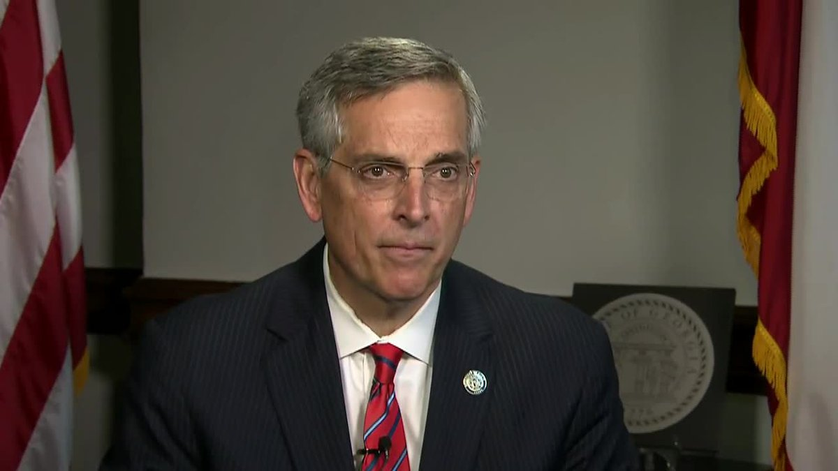 Georgia Secretary of State Brad Raffensperger opens up about attacks on him and his family and...