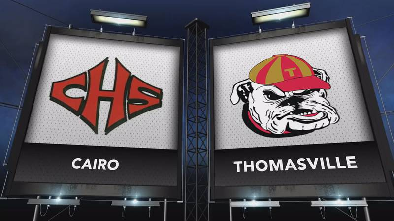 Cairo and Thomasville met in this week's Game of the Week