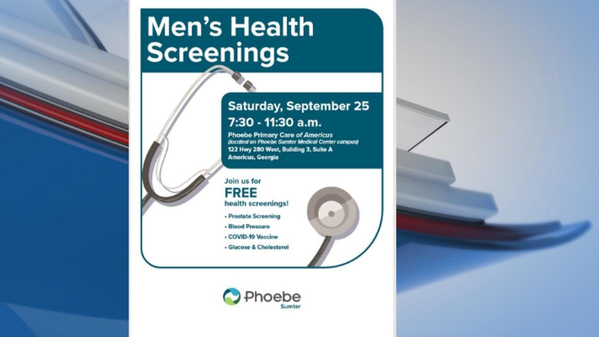 Phoebe Sumter host men's health fair