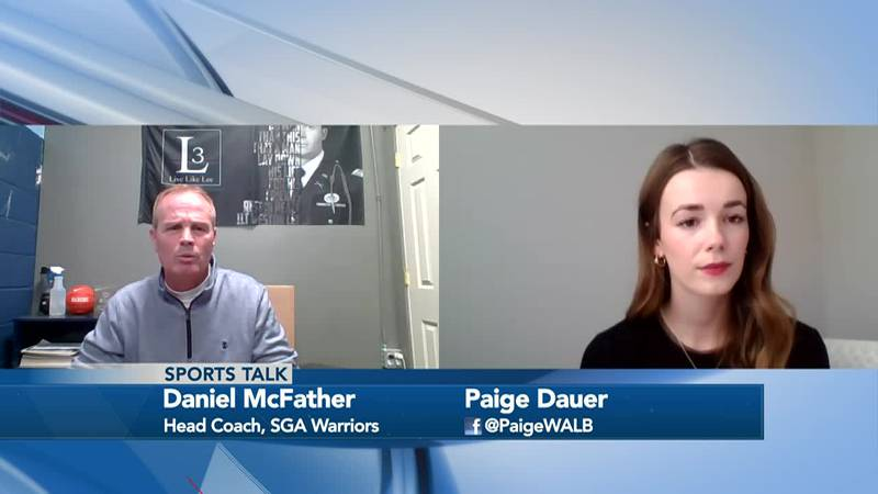 Sports Talk with Paige Dauer - SGA Warriors