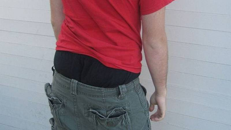 The city's saggy pants ordinance passed in 2010.