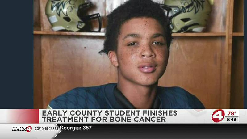 Early County High School student finishes cancer treatment