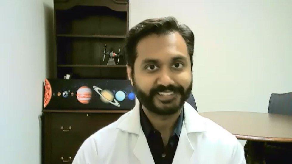 Dr. Aakar Thaker, faculty physician at the Phoebe Family Residence Program