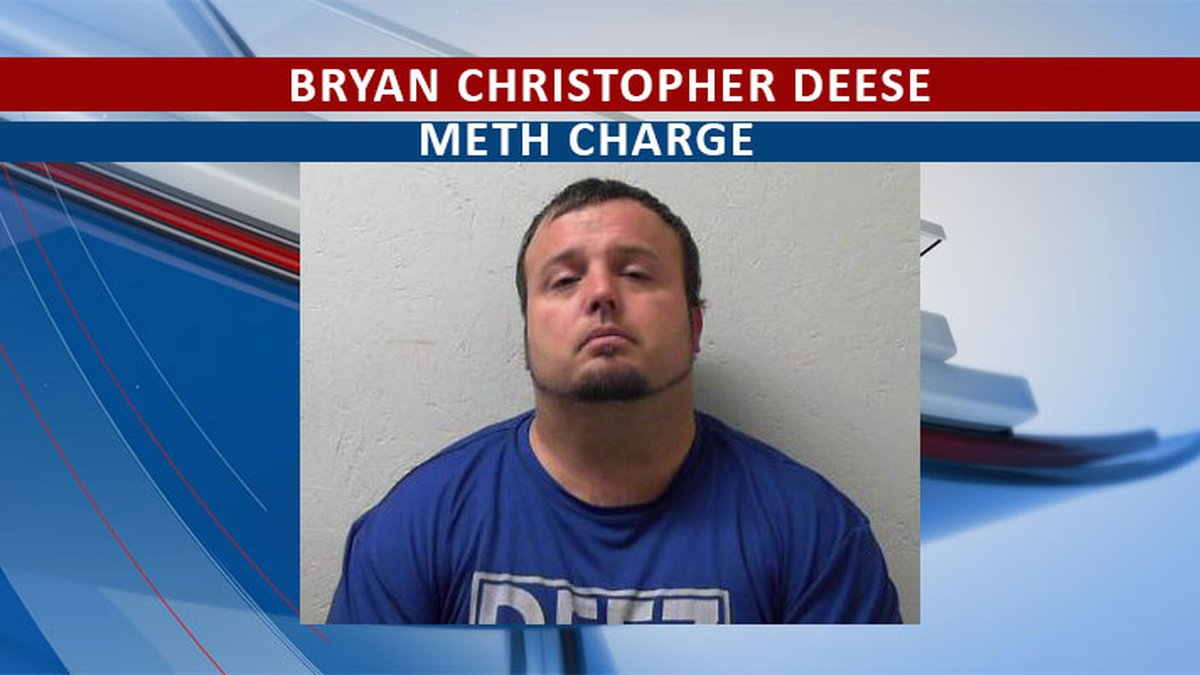 Meth discovered in traffic stop