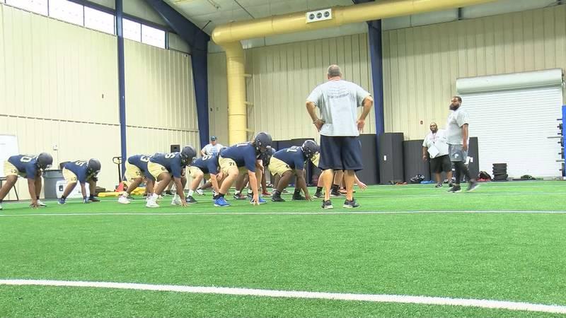 Pelham Hornets training hard in the off season