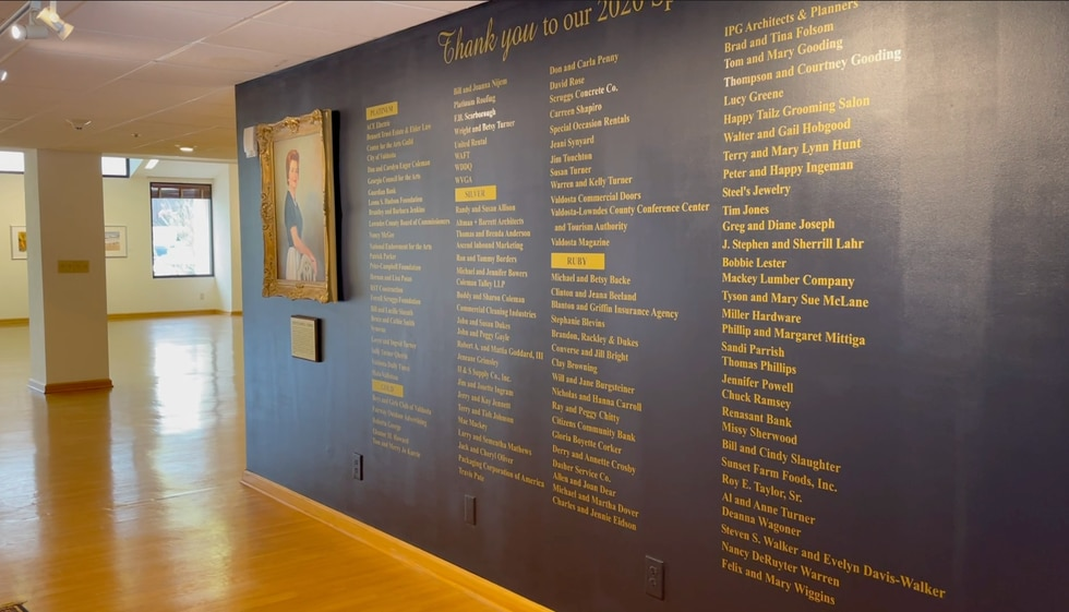Turner Center for the Arts in Valdosta.