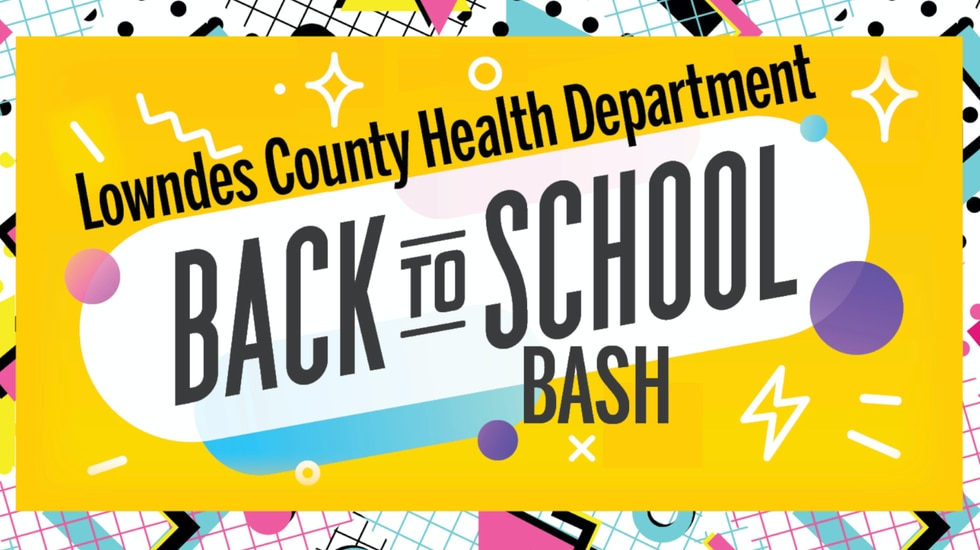 Lowndes Health Dept. host ' Back to school bash' for student vaccinations.