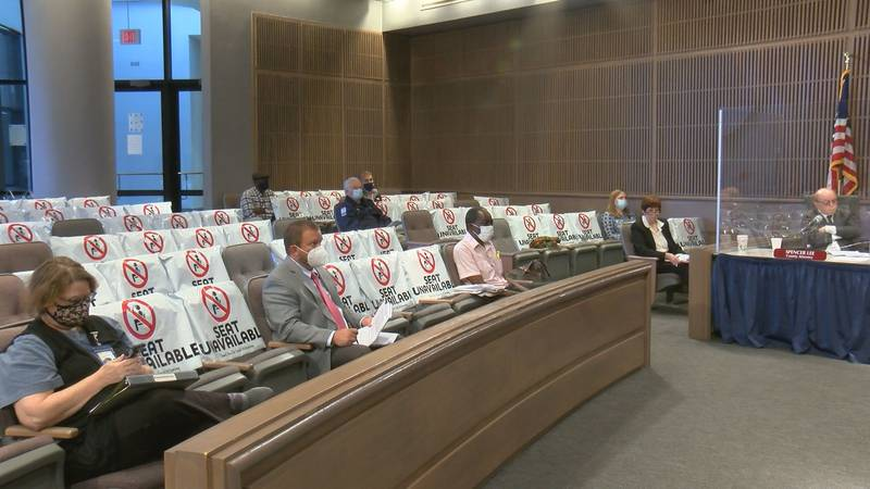 Dougherty county commissioners discussed giving both part-time and full-time employees a bonus...