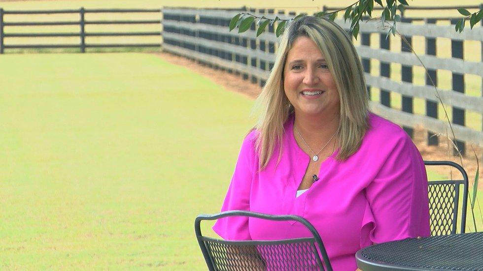 Georgia Marine Corps veteran Tori Branum uses her gun expertise to teach other women how to...