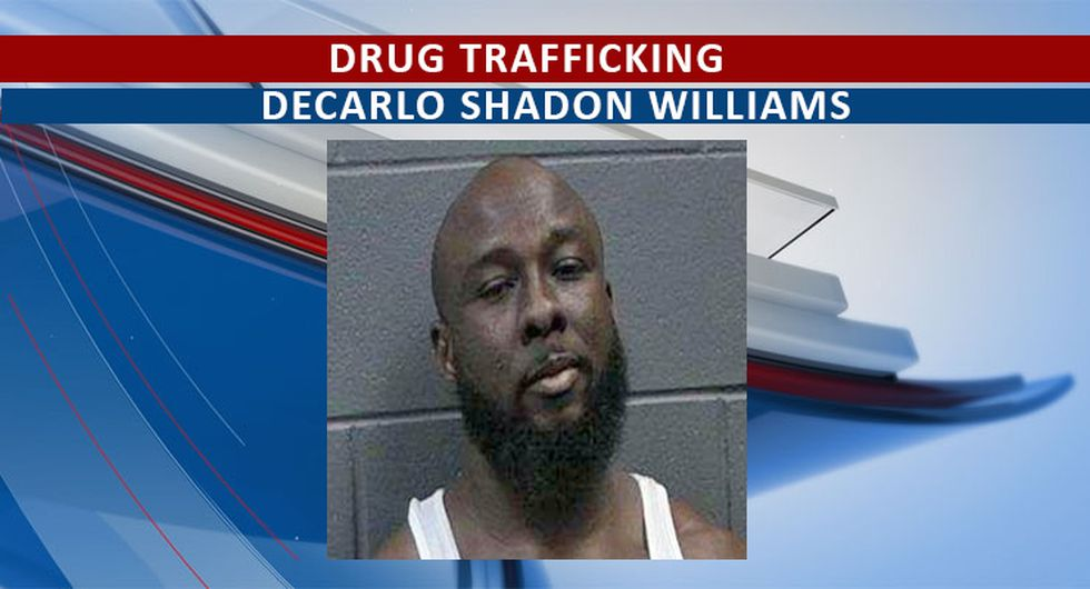 Williams faces drug charges