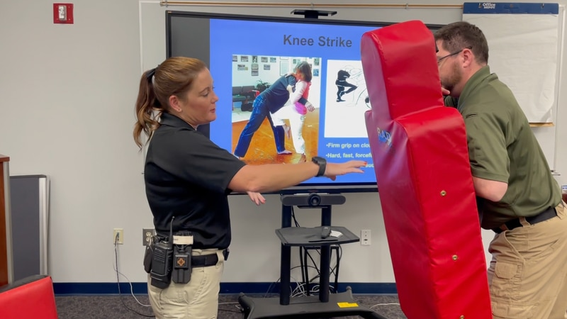 The SAFE Program helps teach women how to defend themselves.