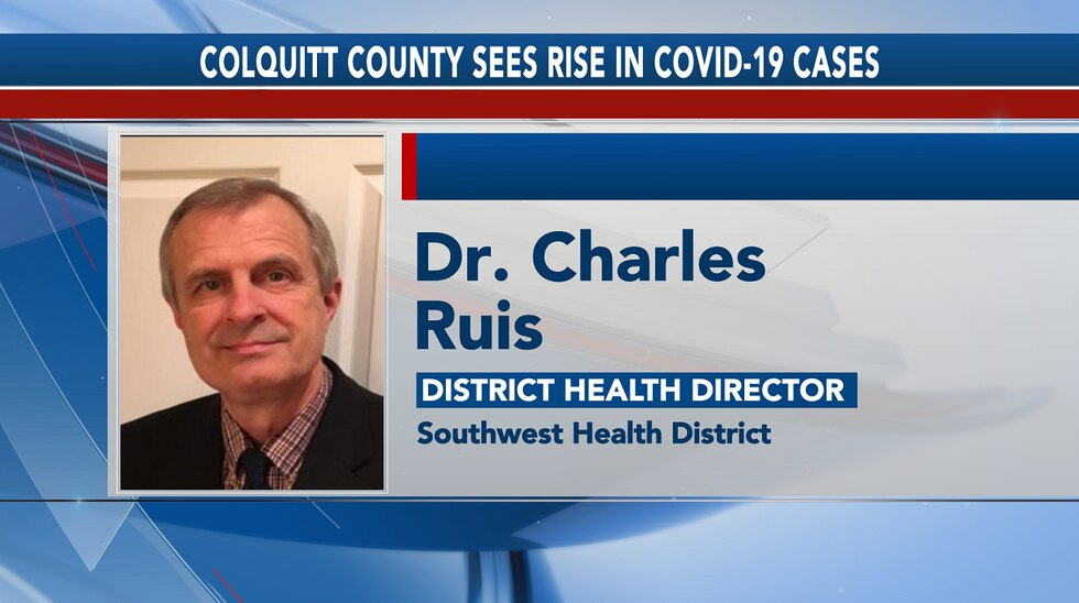 Dr. Charles Ruis, District Health Director