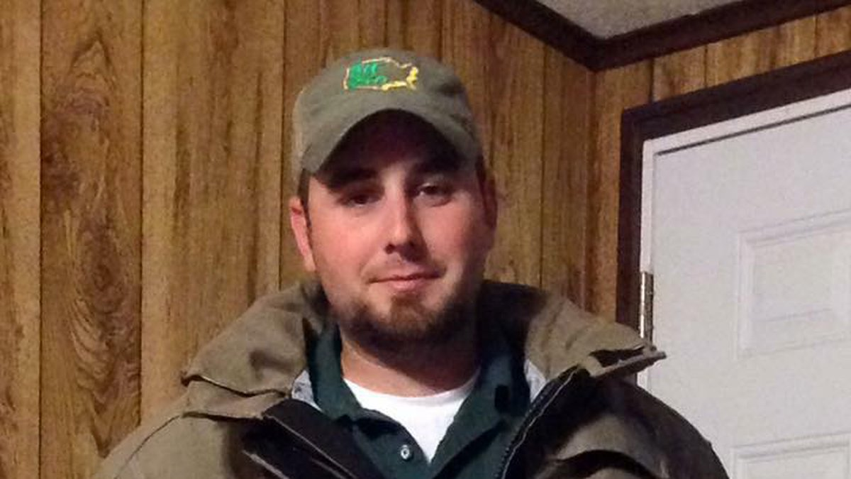Firefighter, Adam Taylor, died Friday. (Source: Viewer)