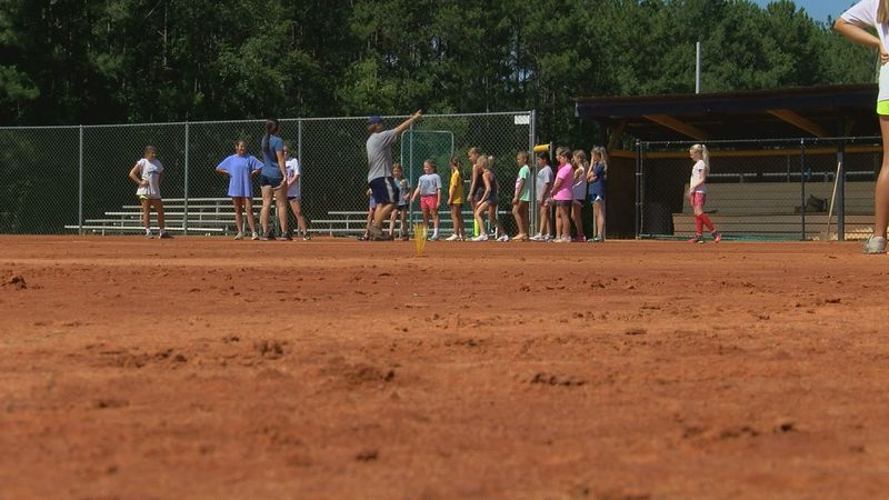 TiftArea Hosts Youth Softball Camp