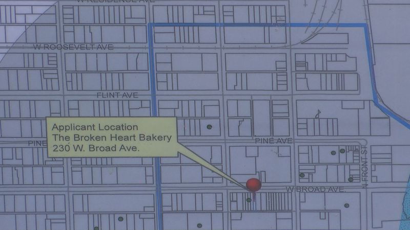 Broken Heart Bakery is located in downtown Albany