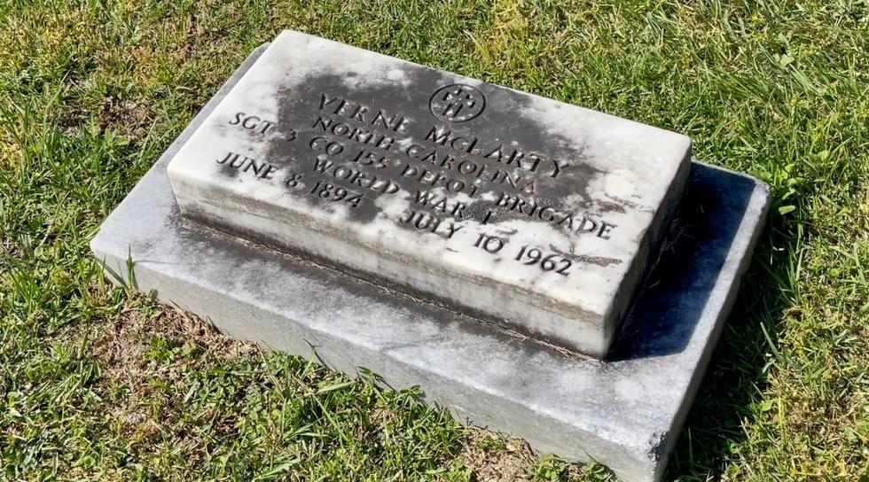 Valdosta Public Works is looking for volunteers to help clean the headstones of veterans buried...