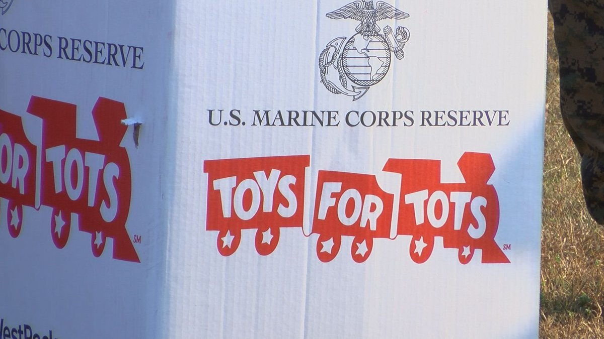 The campaign kicked off Thursday at the Marine Corps Logistics Base.
