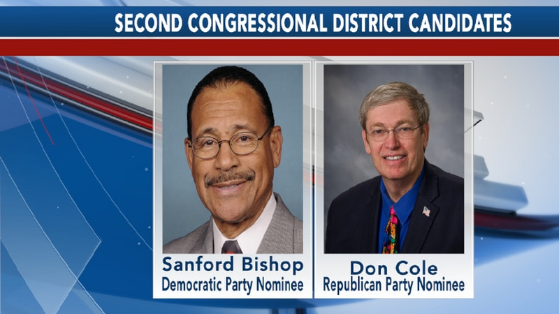 Sanford Bishop and Don Cole to face off for Second Congressional District seat in November.