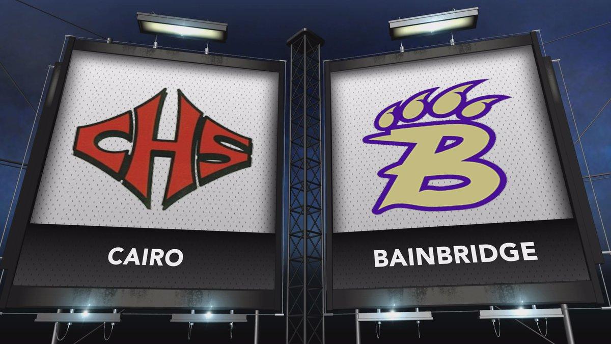 Bainbridge hosted Cairo in this week's Game of the Week.
