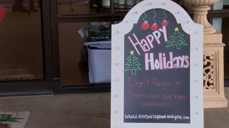 Knight's Apparel And Gifts has also launched a new website, and their staff plans to continue...
