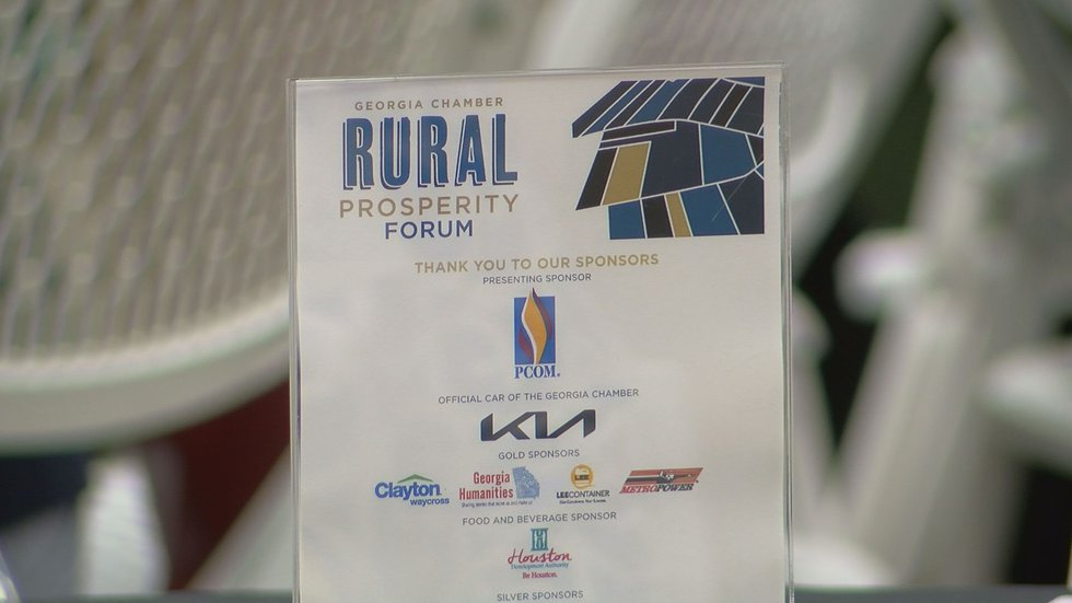 The State Chamber of Commerce hosted a forum about solving some of south Georgia's economic...