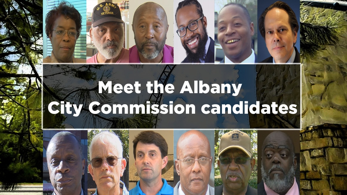 Meet the candidates for the Albany City Commission.