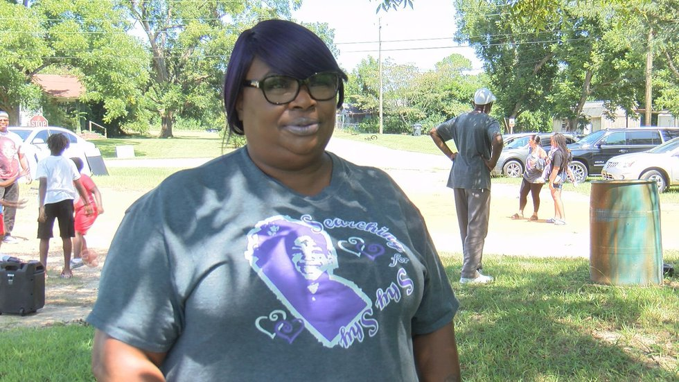 Veronica Pate, Shy'Kemmia's mother, believes she's still alive but any closure would be okay...