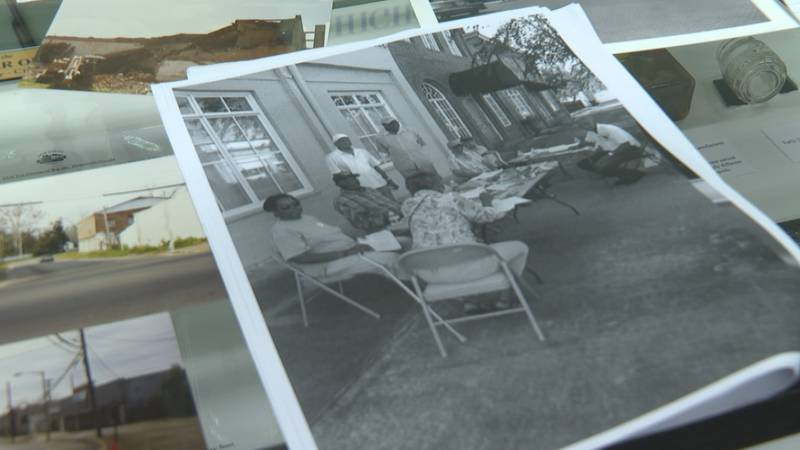 A commemorative wall will be displayed on the corner of Stevens and West Jackson St. in...