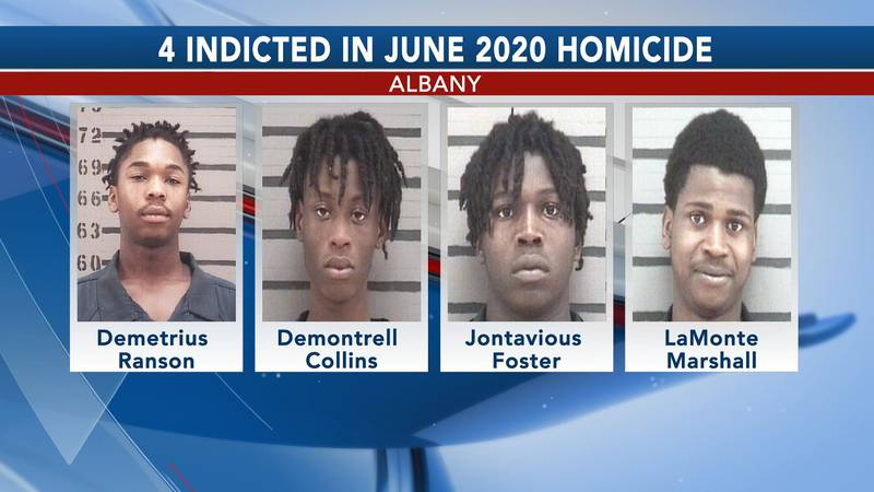 The four men were indicted in connection to a June 2020 homicide.