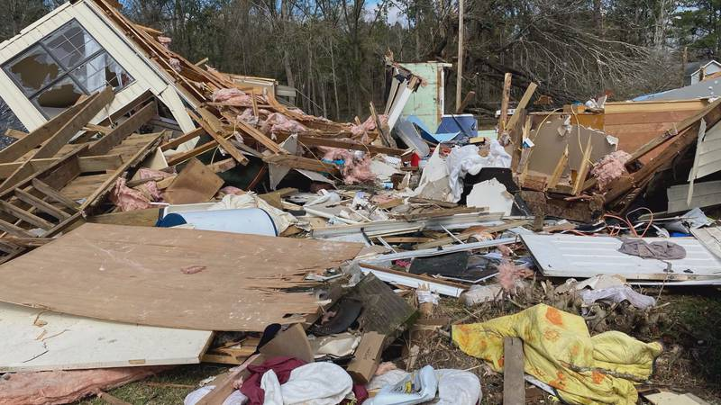 Storms in January 2017 damaged multiple communities.