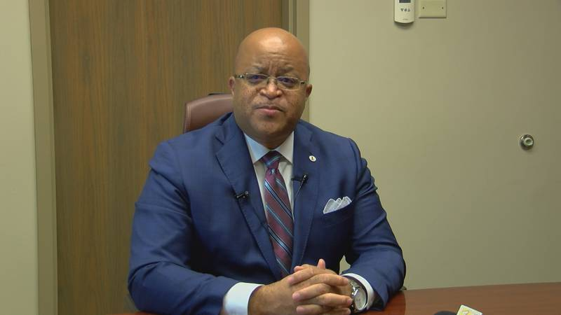 Kenneth Dyer is Dougherty County School's Superintendent.