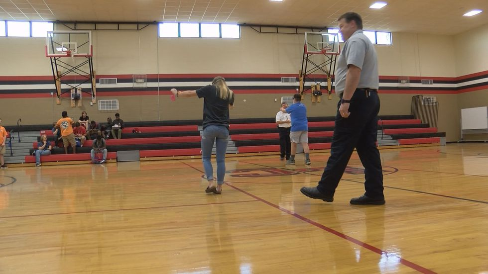 9th grade students participated in an impaired driving reenactment (Source: WALB)