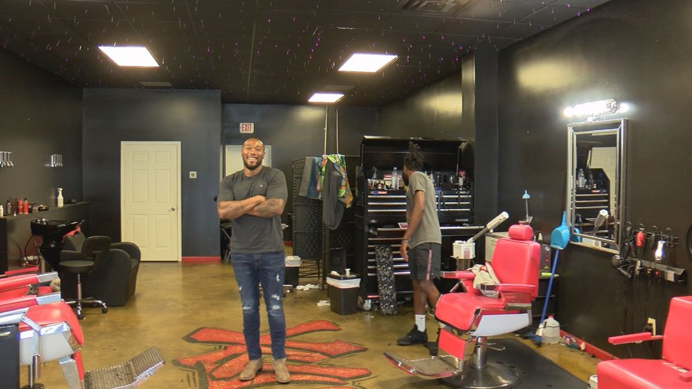 Xclusive's barbershop owner Cliffton Johnson said he will be volunteering in this bash to give...